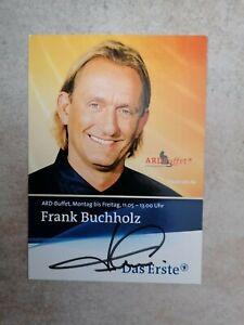 Autogramm Frank Buchholz, TV und Sternekoch