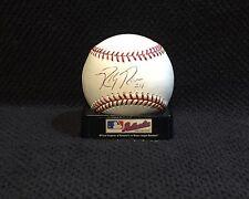 Ricky Romero Autographed Rawlings OLB Baseball - Blue Jays