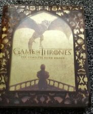 Game of Thrones The Complete Fifth Season 5 Five blu ray boxset nice and clean