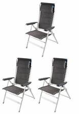 3 x Kampa Lounge Chair - Modena
