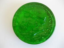 Kennedy Half Dollar Green Glass Paperweight