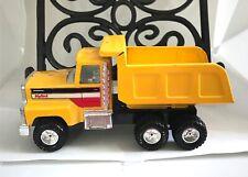 "Nylint 8"" Diecast Yellow Metal 6-Wheel Dump Truck"