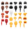 PLAYMOBIL  WOMENS HAIR - consists of one hairpiece   <>< MAX UK POST £1-98 ><>