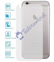 Protector de Pantalla Cristal Templado Vidrio para Apple Iphone 6 Plus Trasero