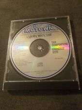 The Temptations Greatest Hits CD