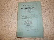 1859.Cérémonies de la consécration d'une église.Crosnier