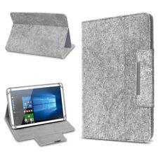 Filz Hülle für 10 - 10.1 Zoll Tablet Tasche Schutzhülle Case Schutz Cover Grau