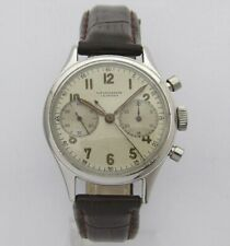 LEONIDAS Vintage Military Chronograph Landeron 148 Pre Heuer Carrera