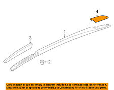 Buick GM OEM Enclave Roof Rack Rail Luggage Carrier-Rear Cover Right 84064620