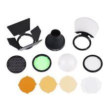 Godox AD200 H200R Accessories AK-R1 Honeycomb Snoot color Filters Diffuser Kits