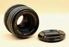 Vintage PENTACON Auto 50mm f/1.8 MC Prime Lens for M42 fit with caps