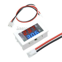 Blue & Red Dual LED Digital Display DC 100V 10A Voltmeter Ammeter Volt Amp Meter