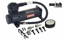 Viair 380c Stealth Black Compressor For Air Suspension Train Horn 200 psi