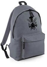 Wolverine x men marvel Backpack Rucksack School College Travel Work Bag canvas