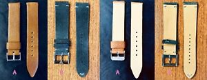 Leather Watch Strap Discount Lot: High Quality, Name Brand, & Custom (18-20 mm)