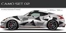 Camo 02 Auto Folien Aufkleber Set Tuning Muster Design JDM Style Camouflage