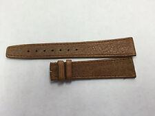 Genuine Movado Medium Brown 18mm Calfskin Band