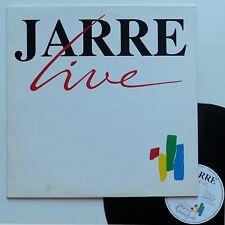"""LP Jean-Michel Jarre  """"Jarre live"""" - (TB/TB)"""