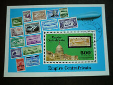 Stamps - Central African Republic - Scott# C187 - Souvenir Sheet