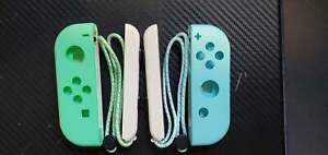 Animal Crossing Joy Con shell for Nintendo Switch with SL/SR and Wrist Strap