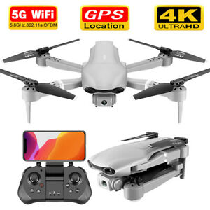 GPS drone Wide Angle 4K 1080P HD video Camera WiFi 5G Hold RC Foldable Durable