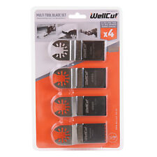 Multitool Blade 4pc Set For DTM50Z, DTM51Z, DCS355N,TM3010CK