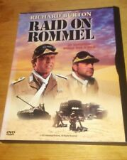 Raid on Rommel (DVD, 1998) RARE-OOP