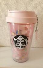 Starbucks Sakura Cherry Blossoms Flower Charm Tumbler Mug Cup 2020 JAPAN