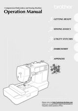 Brother V97 Sewing Machine Owners Instruction Manual Reprint