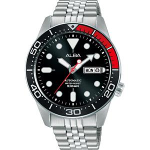 Alba Active Men's Automatic Watch with Black Dial AL4193X1