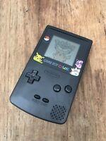 Nintendo GameBoy Color - Refurbished Colour Game Boy Handheld Black Pokemon GBC