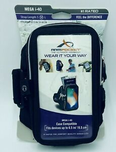 """Armpocket, The Ultimate Armband, MEGA i-40, Compatible w/ devices Up To 6.5"""""""