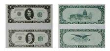 X-FILES TV Series Prop Banknote Set of 2-  MINT