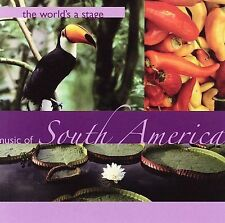 ~COVER ART MISSING~ Various Artists CD World's a Stage: Music of South America