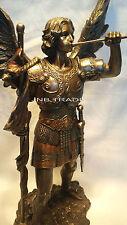 Archangel - Saint St. Gabriel In Hungary Heros Statue Figure Sculpture Bronze