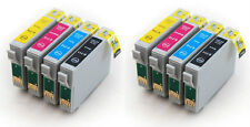 8 Non-OEM Ink Cartridges T1285 for Epson Stylus S22 SX125 SX420W SX425W Prime