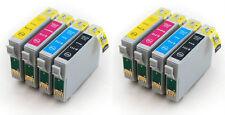 8 Cartucce di inchiostro compatibili per Epson t1285 (t1281 t1282 t1283 t1284) – 2 Set