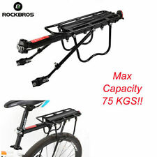 UK RockBros Bicycle Mountain Bike Luggage Carrier Rear Seat Rack