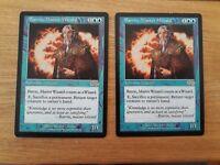 Magic The Gathering Cards - Urza's Saga - Barrin, Master Wizard x 2