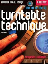 Turntable Technique : The Art of the DJ by Stephen Webber (2000, CD /...