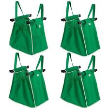 4 pcs Grocery Shopping Bag Foldable Tote Eco-friendly Reusable Carrier Bags