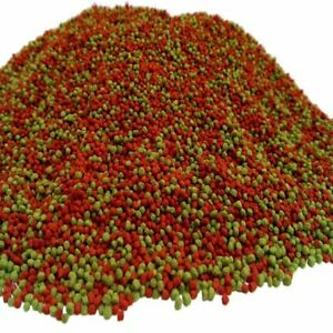 Red/Spirulina  Premium Cichlid Pellets Floating Oscars Flowerhorn Malawi