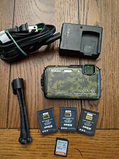 Nikon COOLPIX AW110 GPS Wi-F HD 16.0MP Waterproof Shockproof Digital Camera