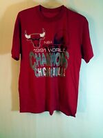 Vintage Chicago Bulls 1991 NBA Basketball Champions Shirt Size XL