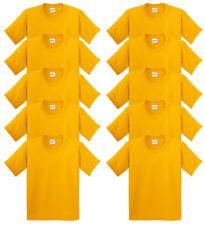 Gildan Youth Unisex Heavy 100% Cotton Short Sleeve Jersey T-Shirt, Pack10. 5000B