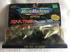 Micro Machines Star Trek: The Movies U.S.S. Grissom, Excelsior, Vulcan Shuttle