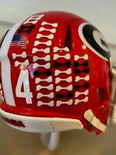 (20) Georgia Bulldogs Dog Bone Mini Helmet Award Decals
