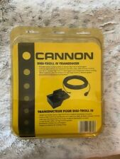 Cannon Digi-Troll Iv Transducer and Bracket