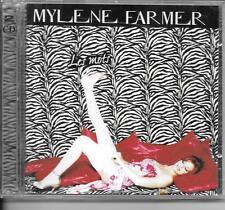 2 CD ALBUM 30 TITRES--MYLENE FARMER--LES MOTS--2001