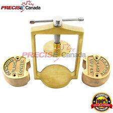 Denture Flask Dental Laboratory Compress Compressor With Upper Lower Brass Dn 2318